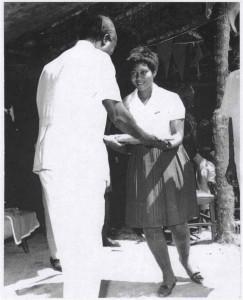 President tour in Lwitikila