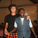 Carsten and Fr. Peter Bwalya