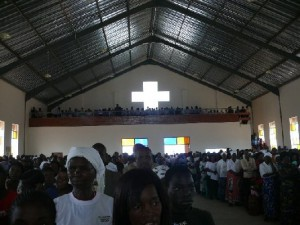 Filled to capacity