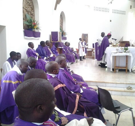 Priests of Mpika Diocese