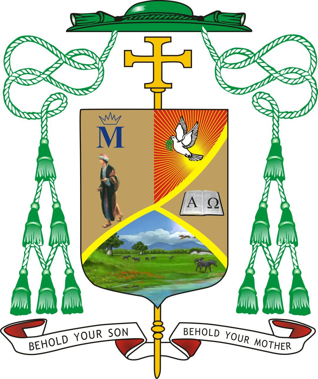 Coat of Arms of Bishop Mulenga